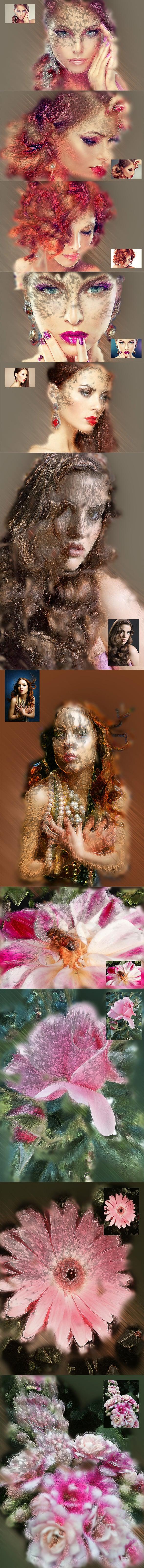 63 VSCO Photoshop Actions: Artistic Actions Bundle - just $9 - 16