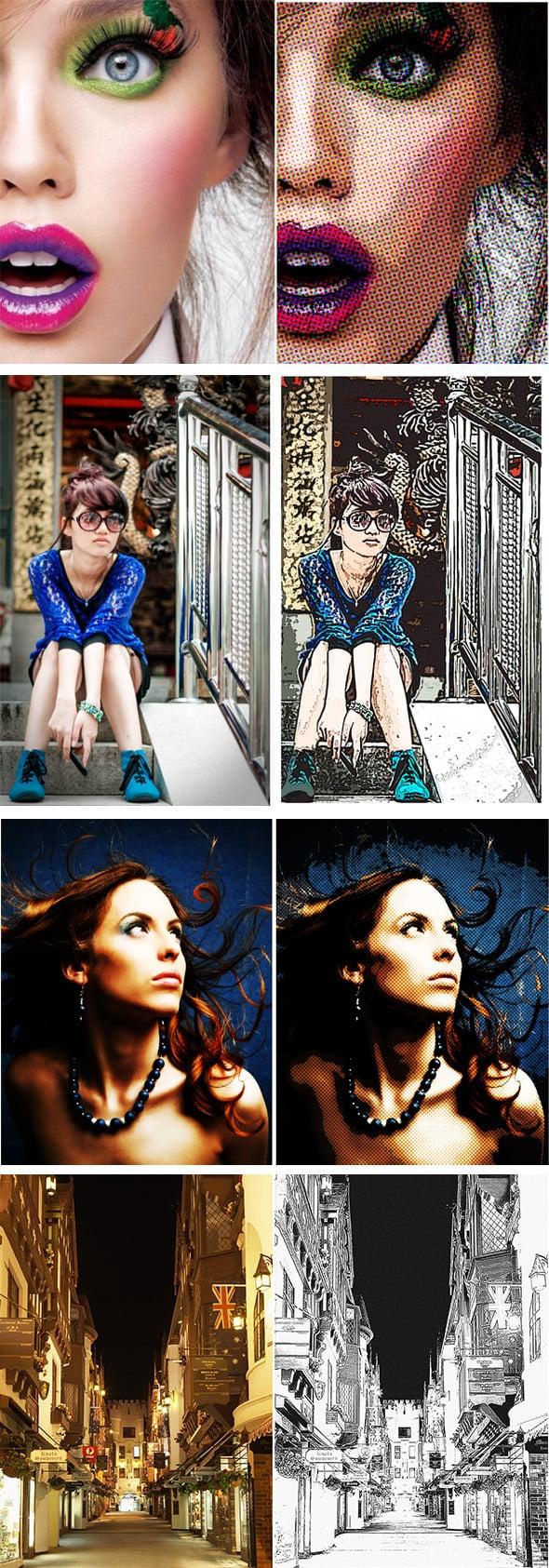 63 VSCO Photoshop Actions: Artistic Actions Bundle - just $9 - 17