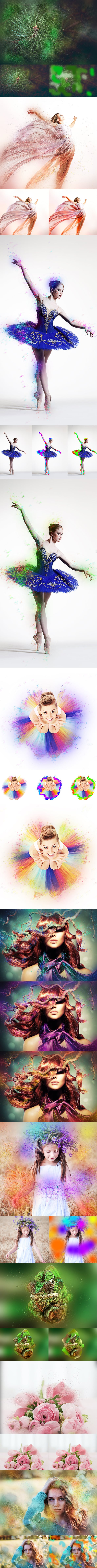 63 VSCO Photoshop Actions: Artistic Actions Bundle - just $9 - 21