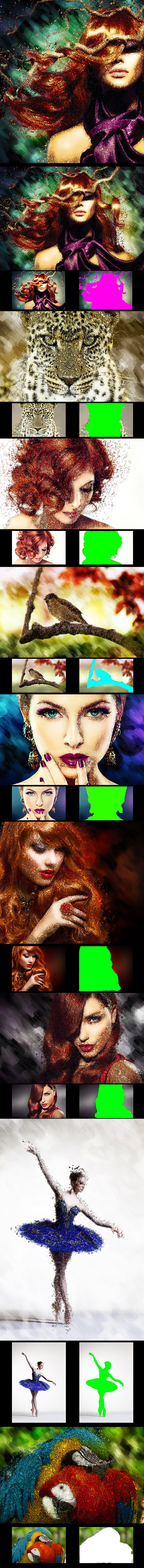 63 VSCO Photoshop Actions: Artistic Actions Bundle - just $9 - 3 2