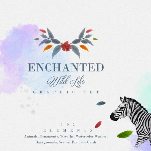 Enchanted Wild Graphic Set - 100 Elements - 490 2 490x490
