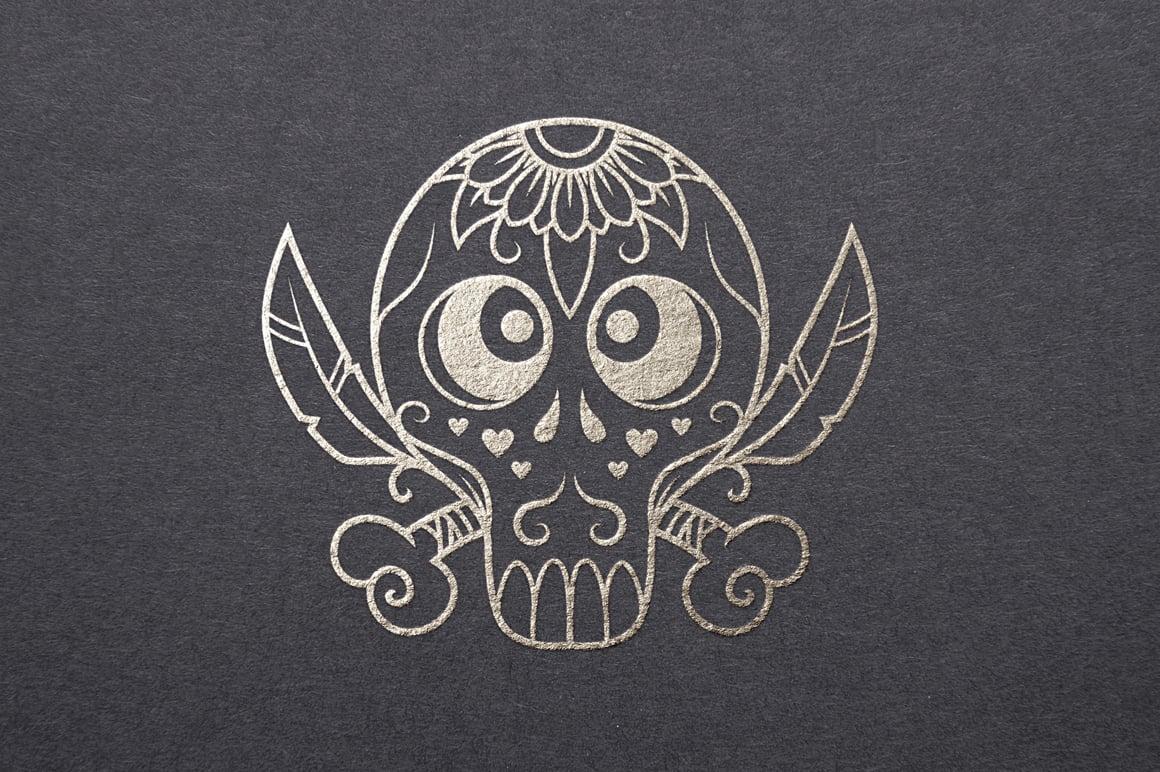 Halloween Graphics Bundle - 2046 Elements - just $9 - 50 Vector Sugar Skulls Presentation12