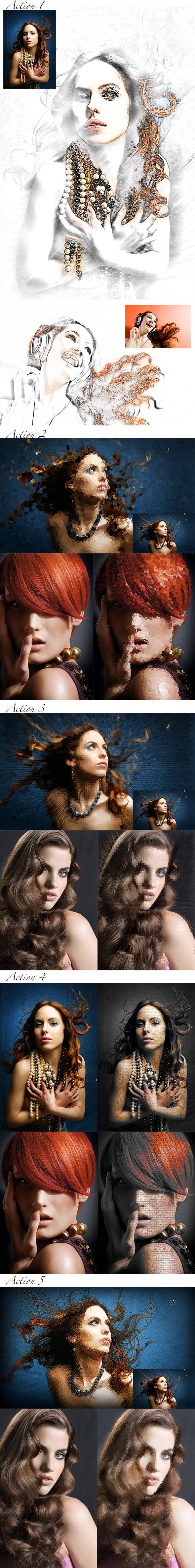 63 VSCO Photoshop Actions: Artistic Actions Bundle - just $9 - 6 2