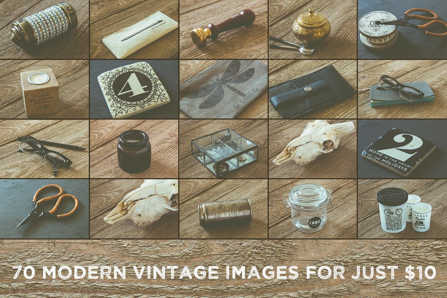 70 Hi-Res Real Photo Modern Vintage Images