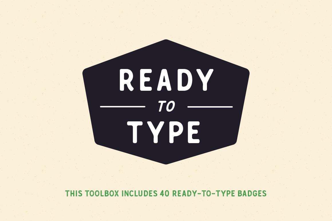 Crazy Font Bundle: the Crafters Toolbox by Great Scott - Crafters toolbox Badge 2