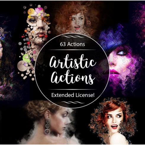 63 VSCO Photoshop Actions: Artistic Actions Bundle - just $9 - HD 1 490x490