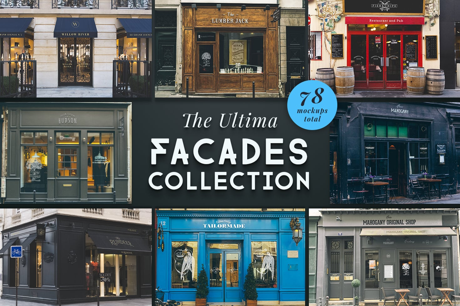 The Ultima Facades Collection - The Ultima Facade Collection Cover