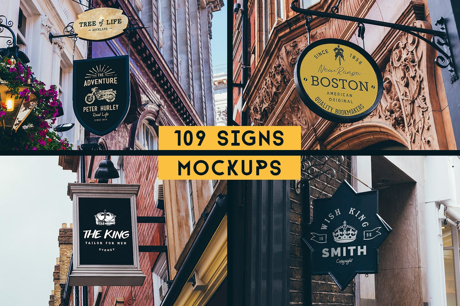 Street Sign Mockup Collection - 117 Mockups - The Ultima Sign Collection Page 2