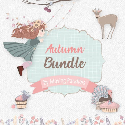 🦃 Thanksgiving Clipart In 2020: Tune Up Your Festive Mood - autumn bundle 1