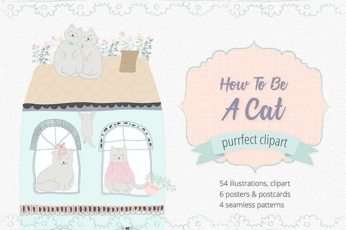 How To Be A Cat Clipart