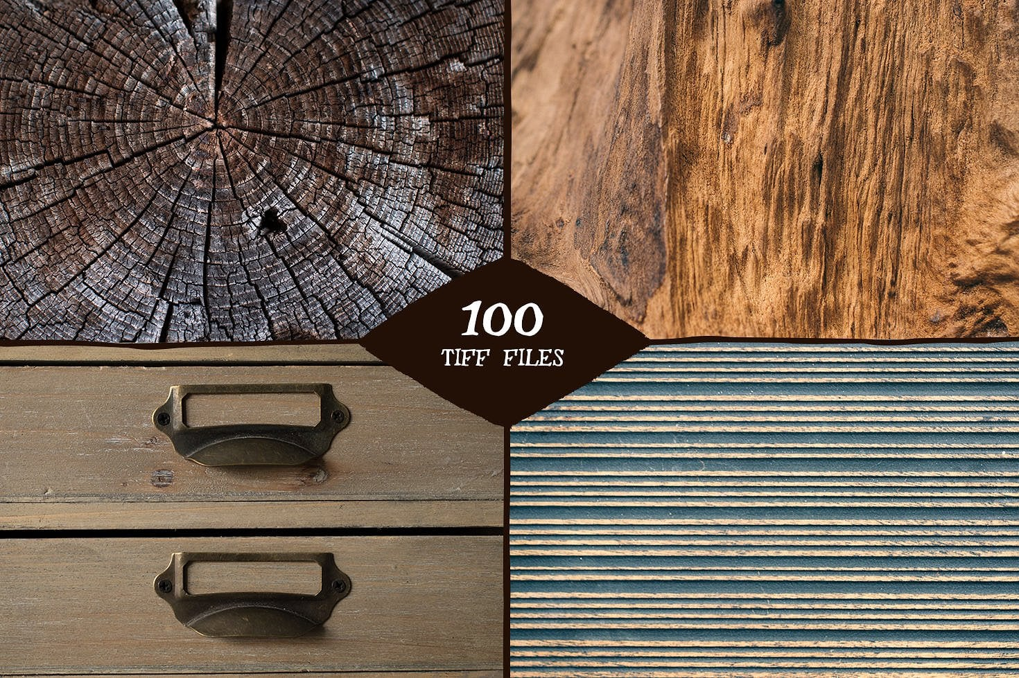 The Woody Collection of Textures