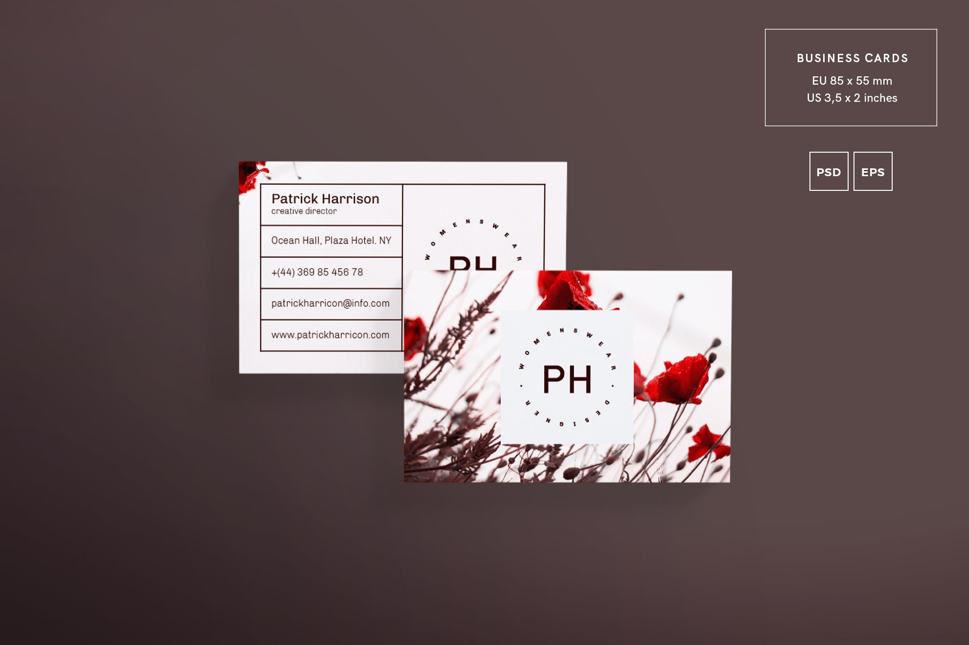110 in 1 Business Card Bundle - 002 bc fashion style 31 1