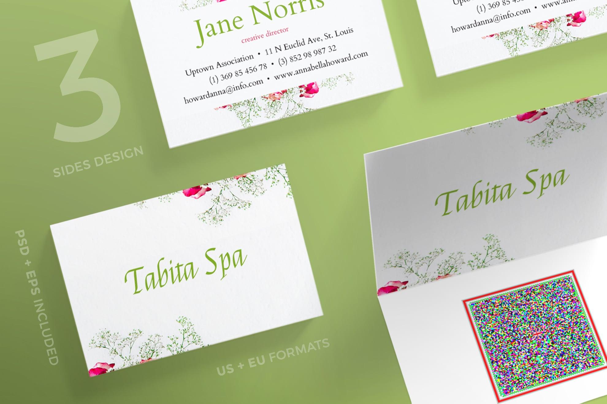 110 in 1 Business Card Bundle - 003 bc tabita spa 29 0
