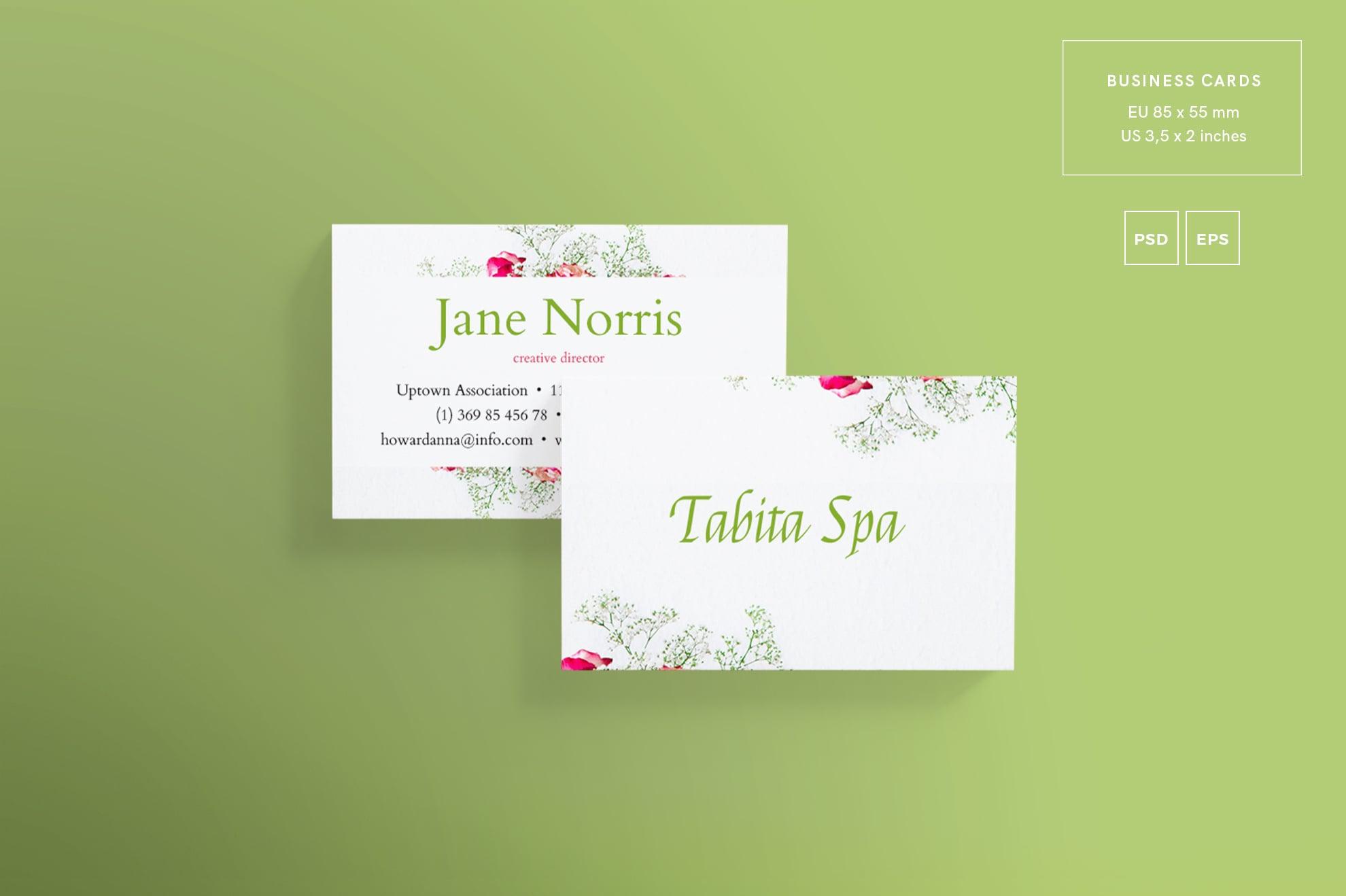 110 in 1 Business Card Bundle - 003 bc tabita spa 29 1