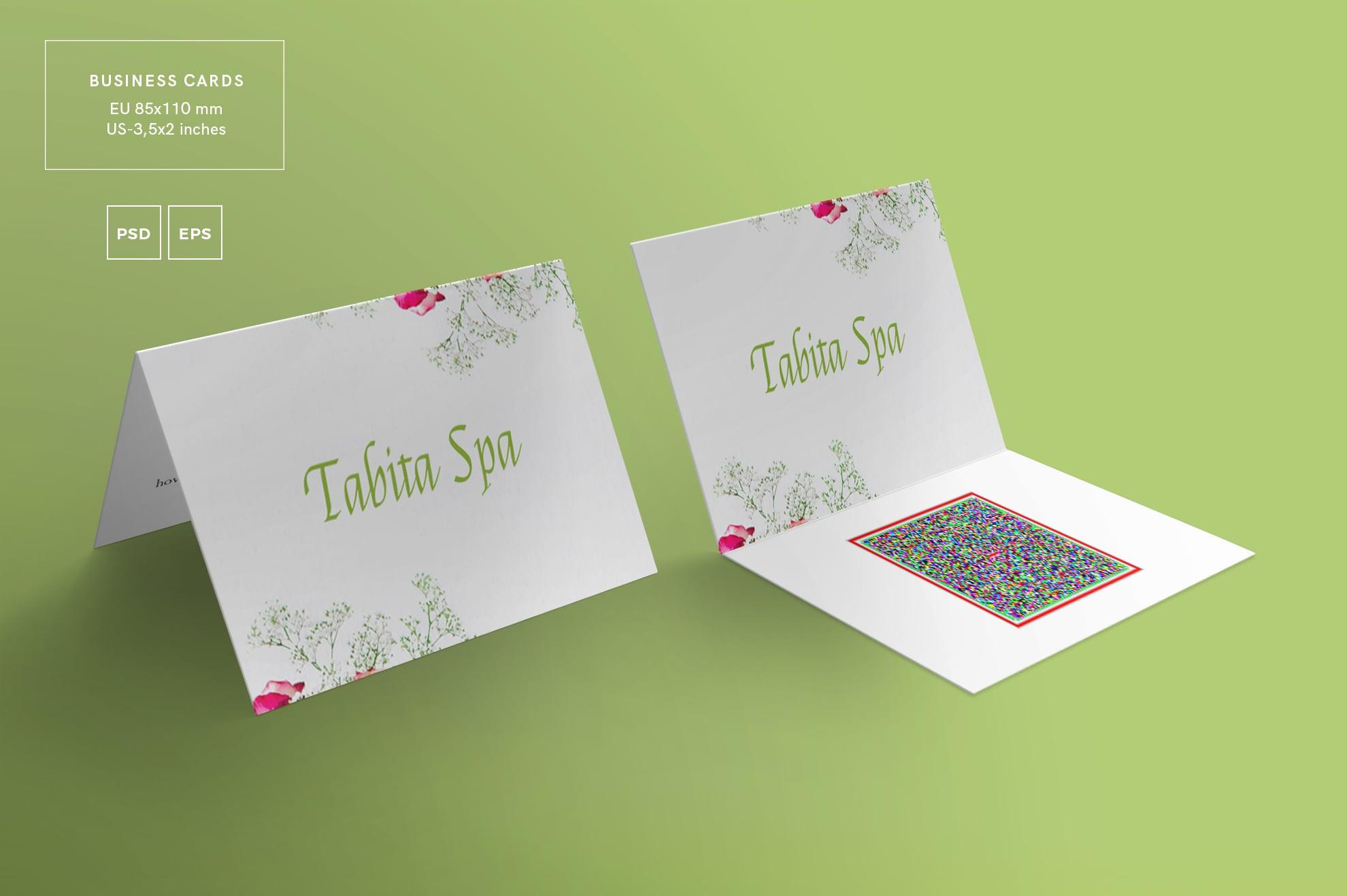 110 in 1 Business Card Bundle - 003 bc tabita spa 29 2