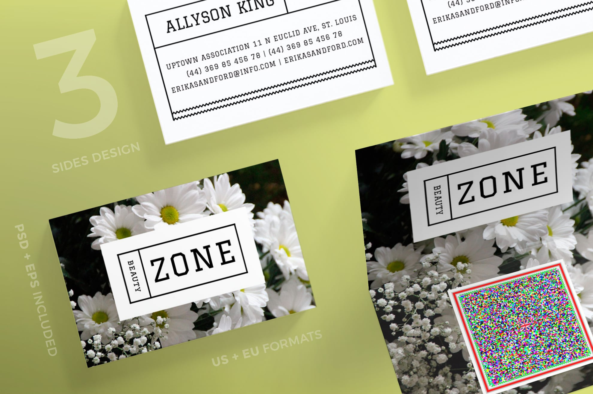 110 in 1 Business Card Bundle - 030 bc beauty zone 54 0