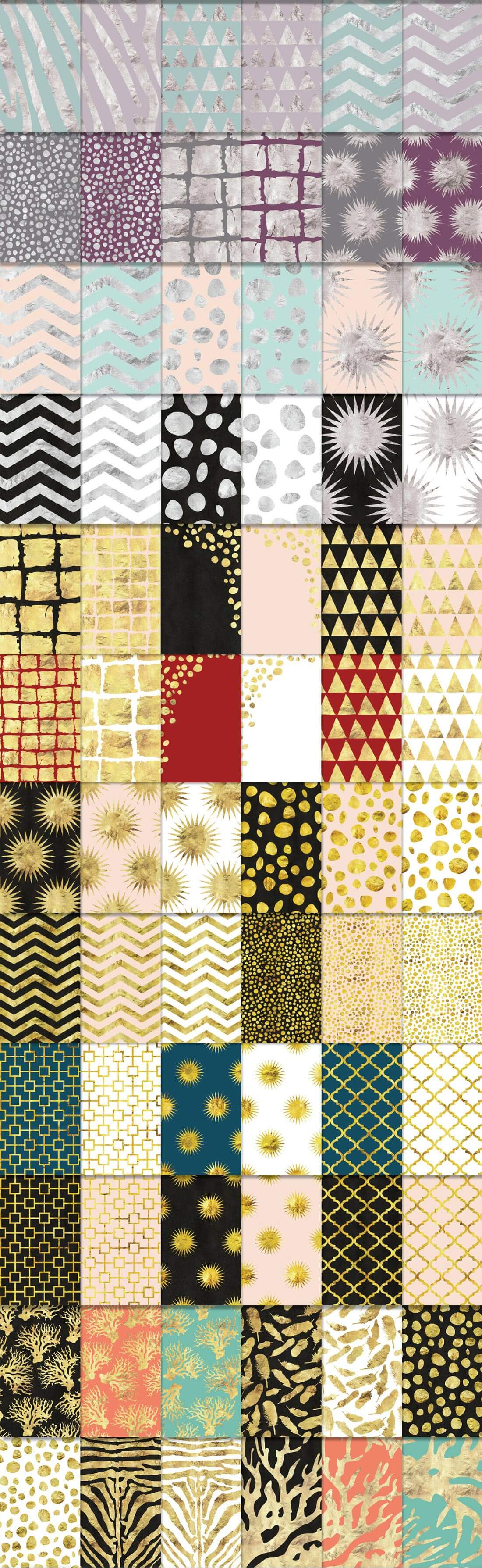 540 Geometric Patterns Super Bundle from Blixa 6 Studios - Blixa6Studios 2