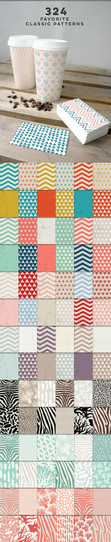 540 Geometric Patterns Super Bundle from Blixa 6 Studios - Blixa6Studios 4