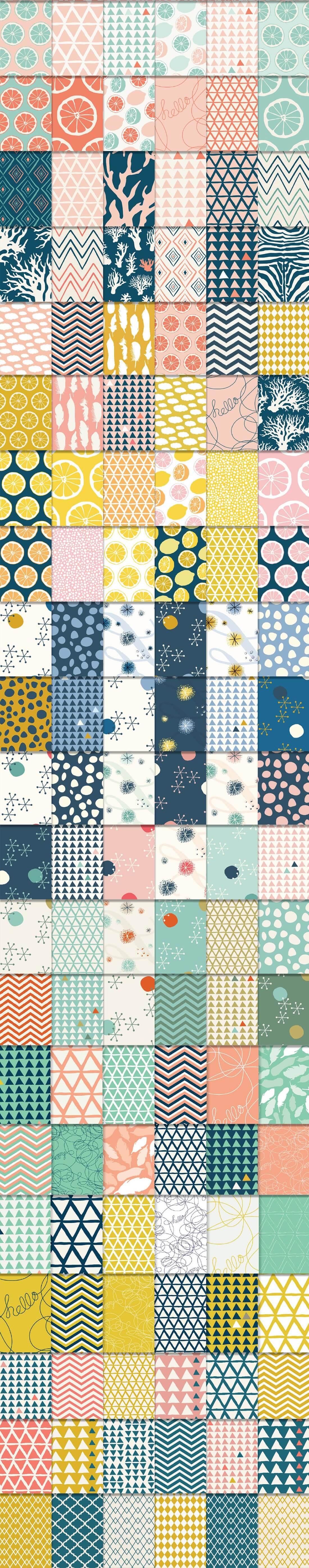 540 Geometric Patterns Super Bundle from Blixa 6 Studios - Blixa6Studios 5
