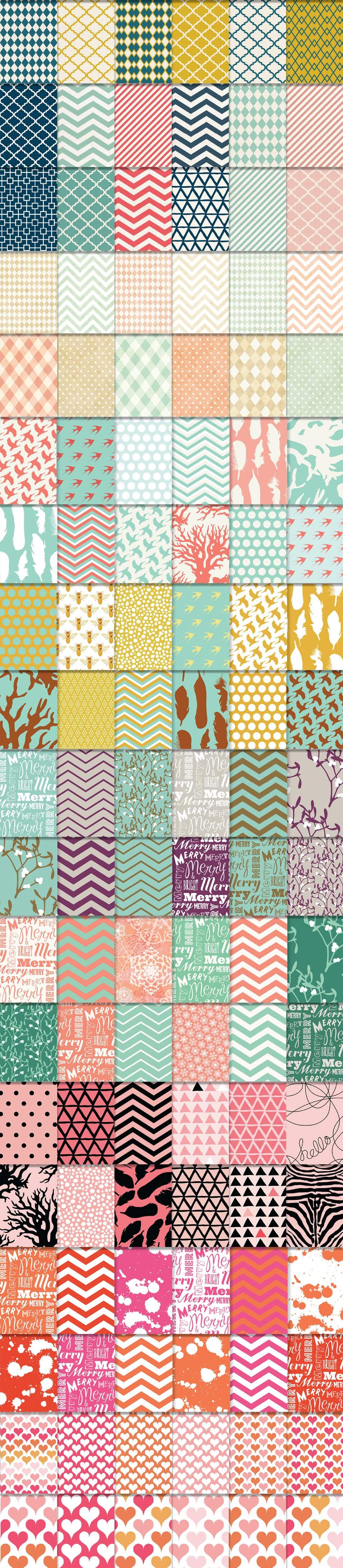 540 Geometric Patterns Super Bundle from Blixa 6 Studios - Blixa6Studios 6