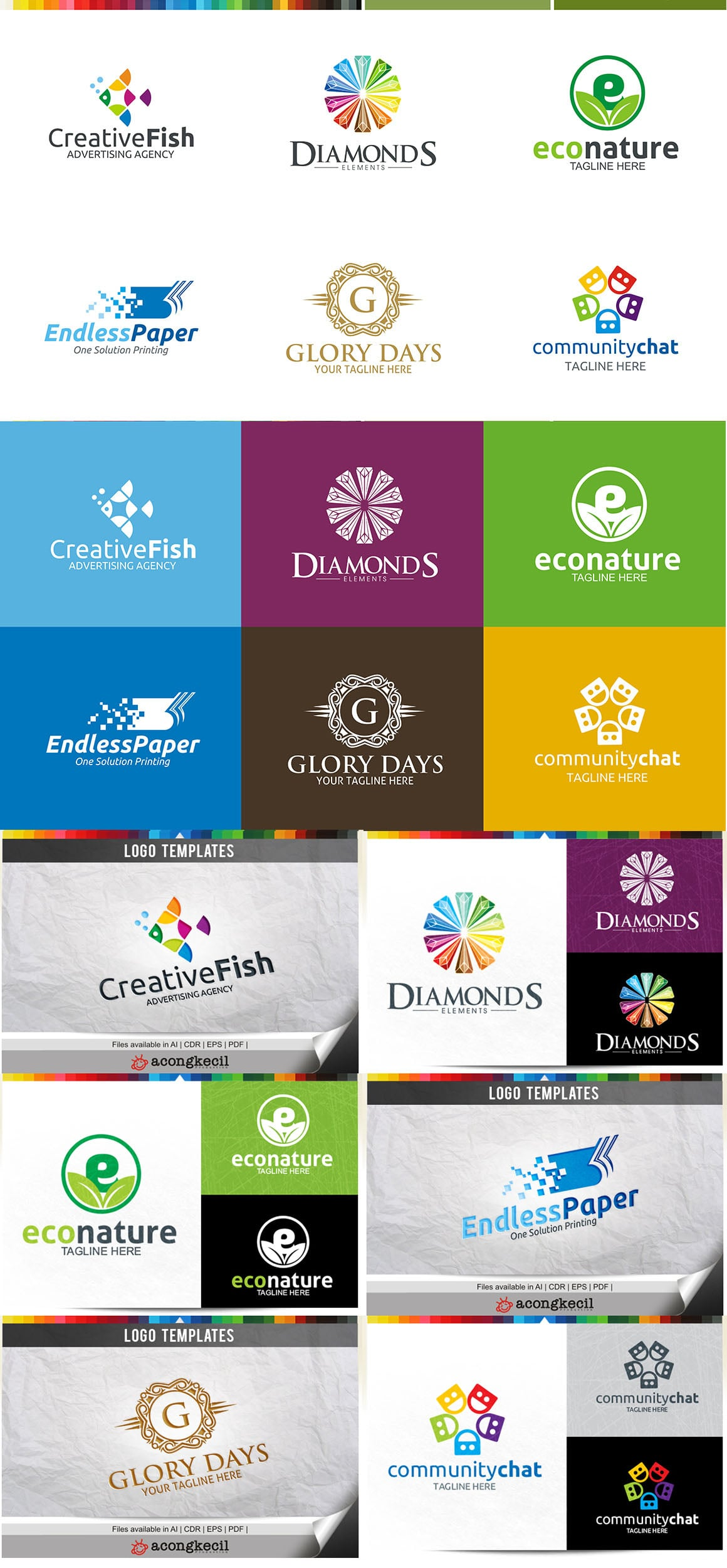 446 Business Logo Bundle - 99%+ OFF - Bundle 03 Preview5a