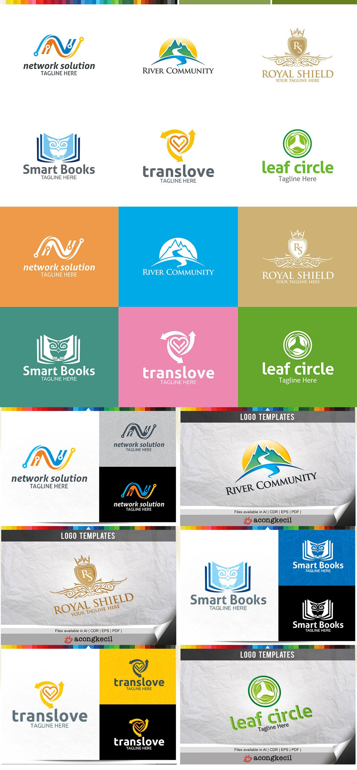 446 Business Logo Bundle - 99%+ OFF - Bundle 06 Preview5A