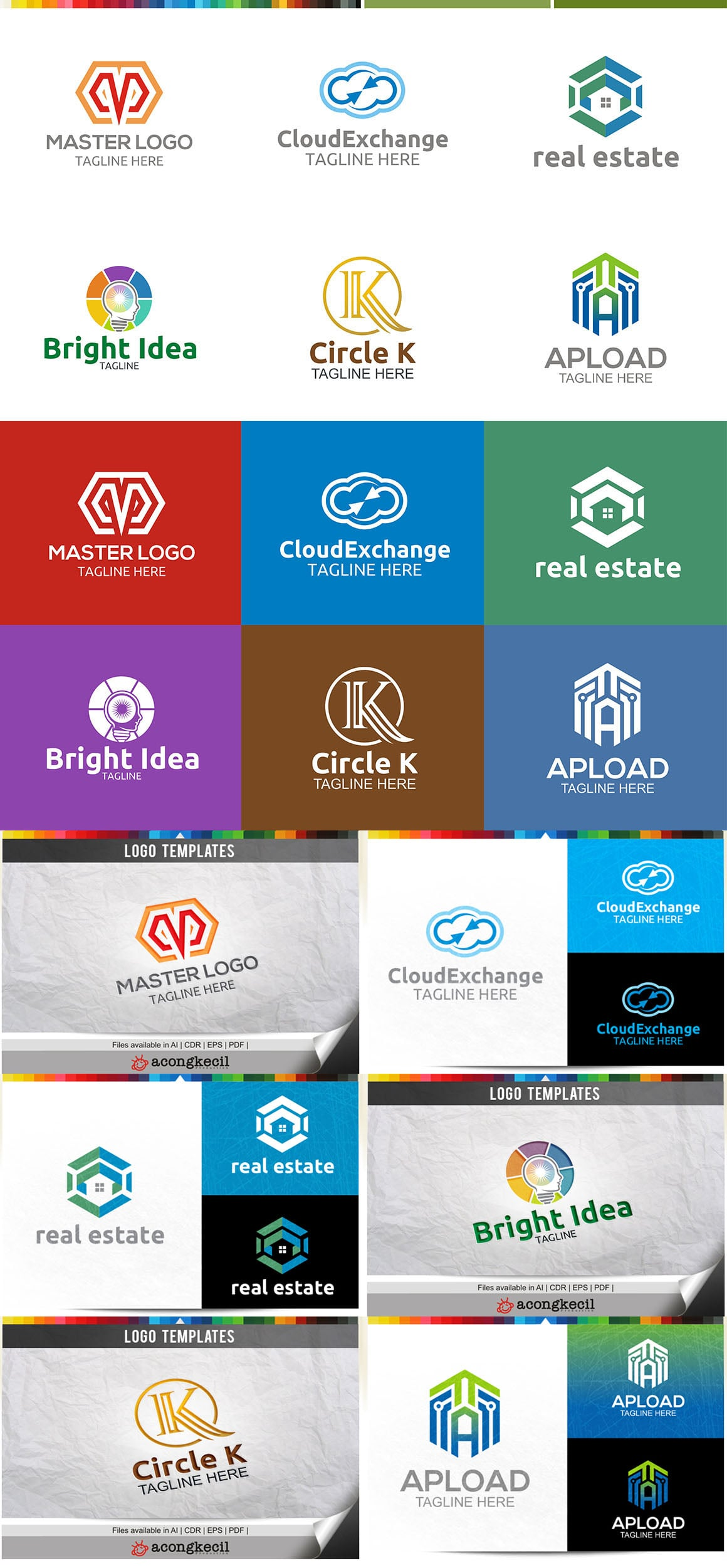 446 Business Logo Bundle - 99%+ OFF - Bundle 17 Preview5A