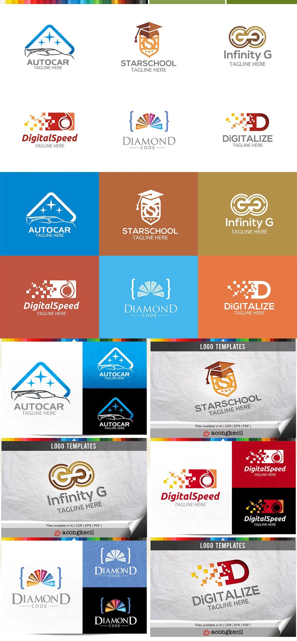 446 Business Logo Bundle - 99%+ OFF - Bundle 18 Preview5a