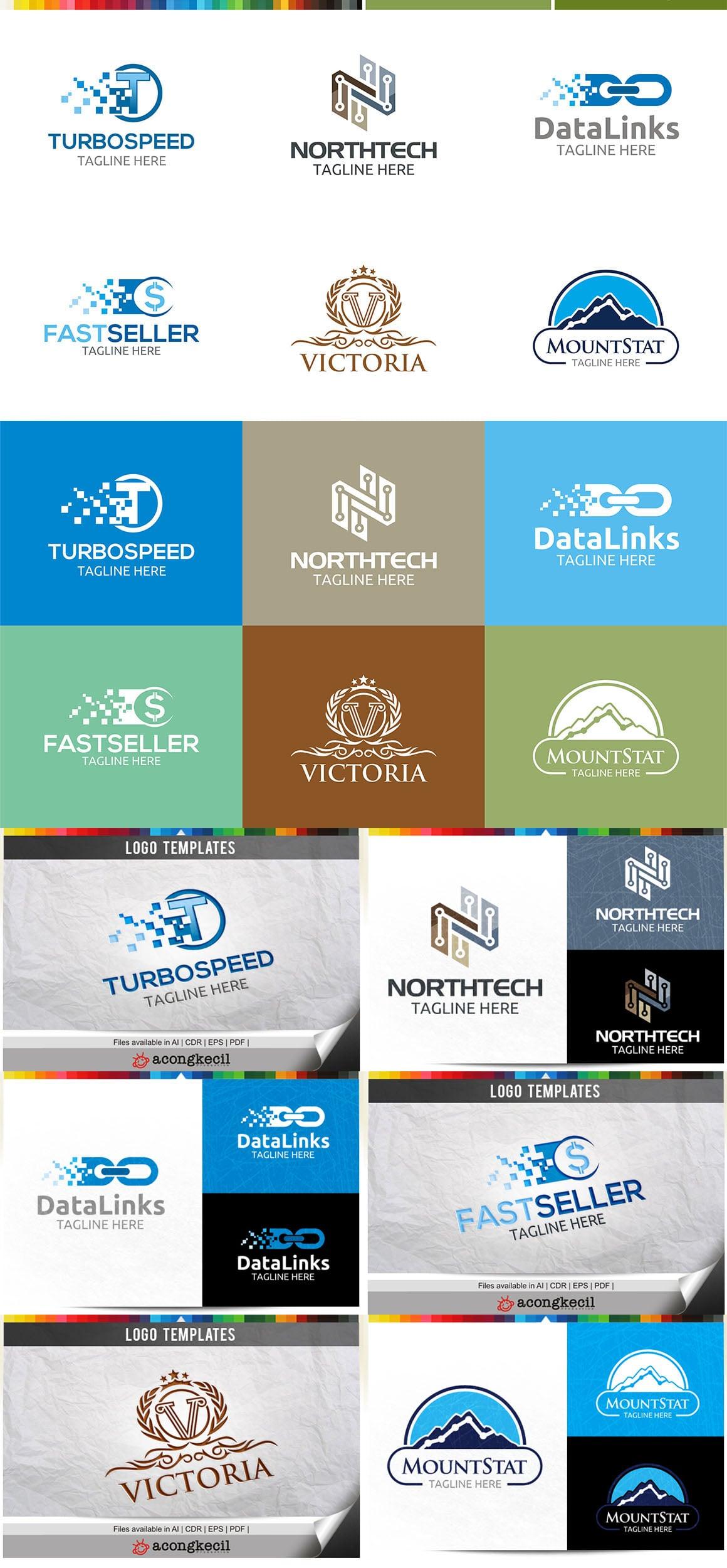 446 Business Logo Bundle - 99%+ OFF - Bundle 19 Preview5a