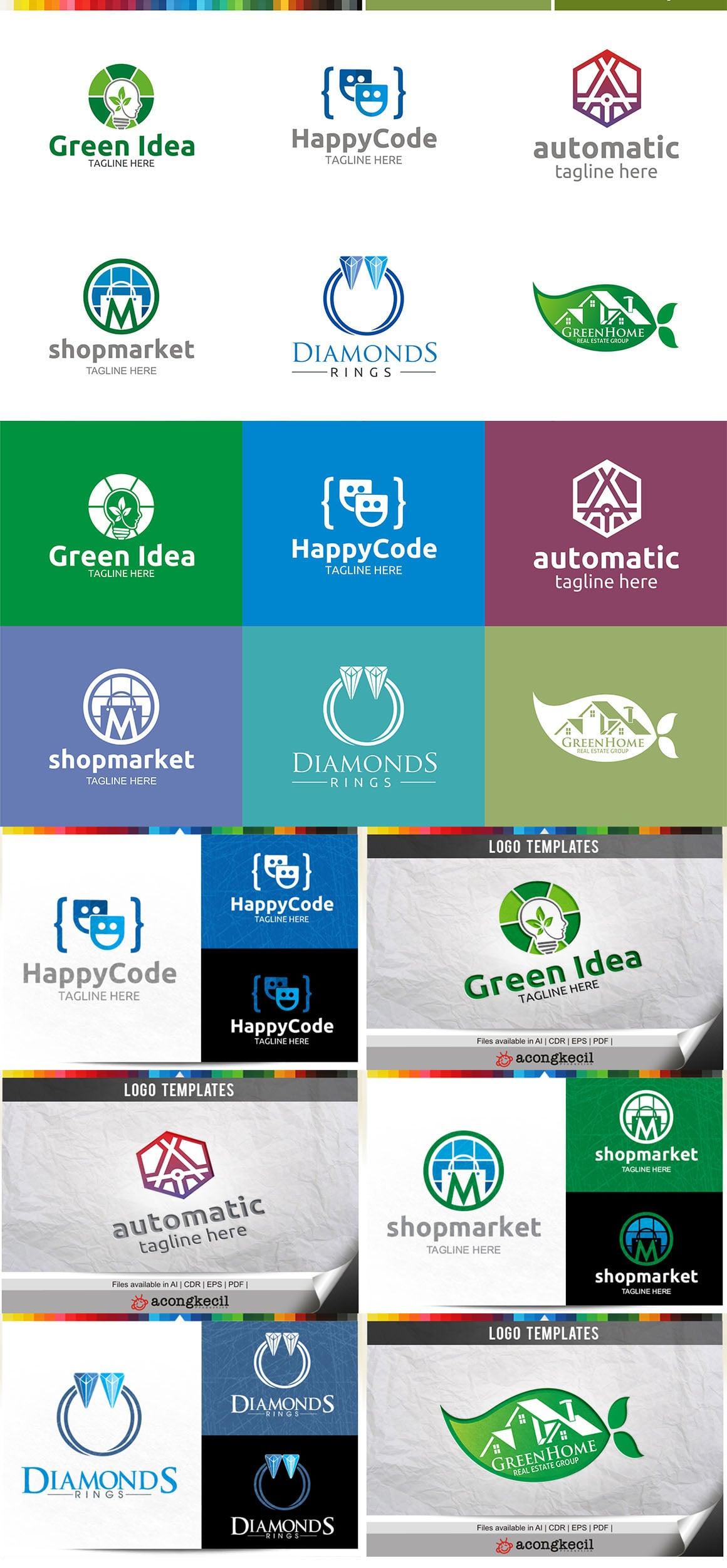 446 Business Logo Bundle - 99%+ OFF - Bundle 20 Preview5a