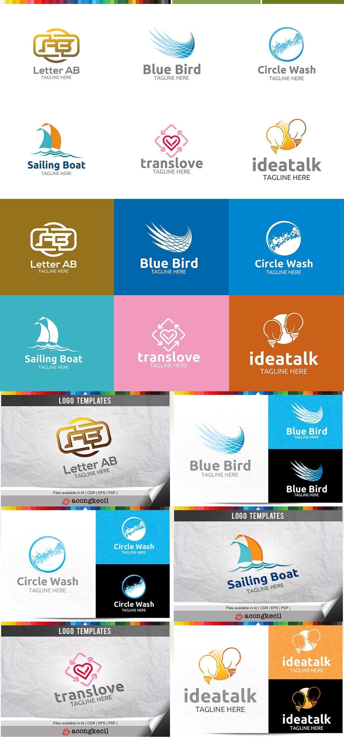 446 Business Logo Bundle - 99%+ OFF - Bundle 21 Preview5a