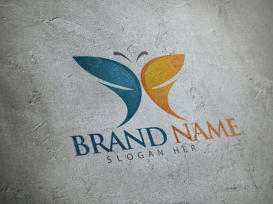 64 Logo Templates - 98% OFF - Butterfly Logo 2