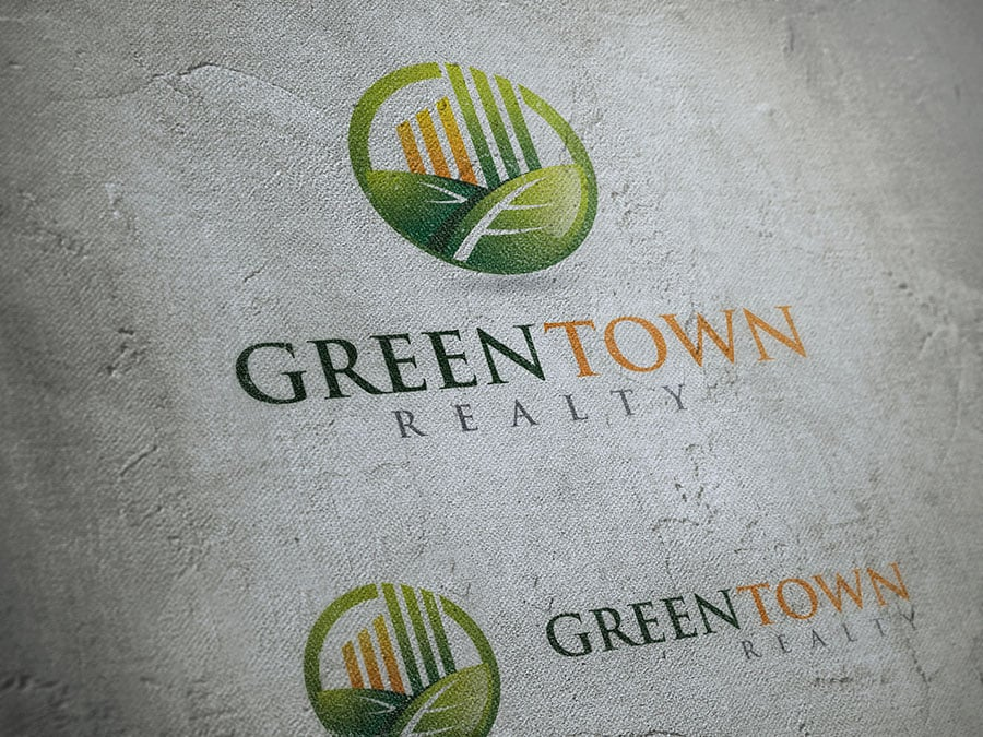 64 Logo Templates - 98% OFF - Green Town Realty