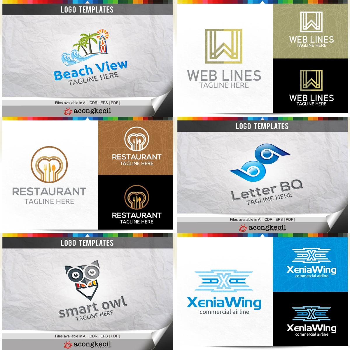 446 Business Logo Bundle - 99%+ OFF - Image Preview 25
