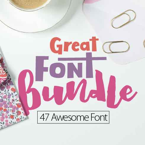 47 Unique Script Fonts and 2 Display Fonts - PREV 01