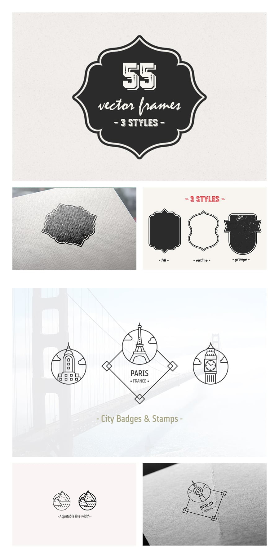 Designers 3300+ Vectors Elements Kit