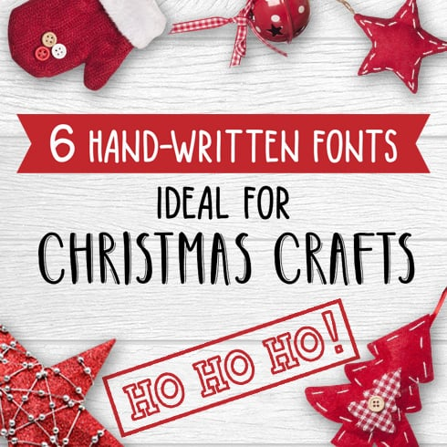 Best Christmas Fonts - Lettering for Christmas Cards - 1 1