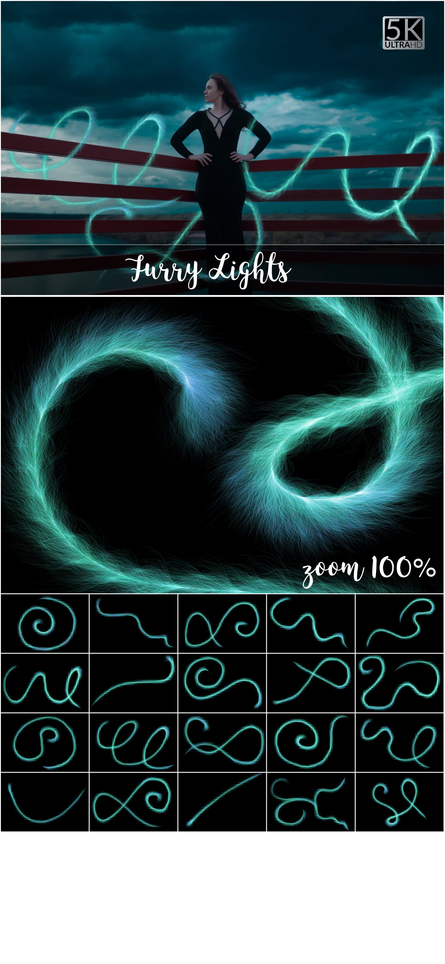 1053 Spectacular Overlays png - Only $18! - 10 Furry Lights
