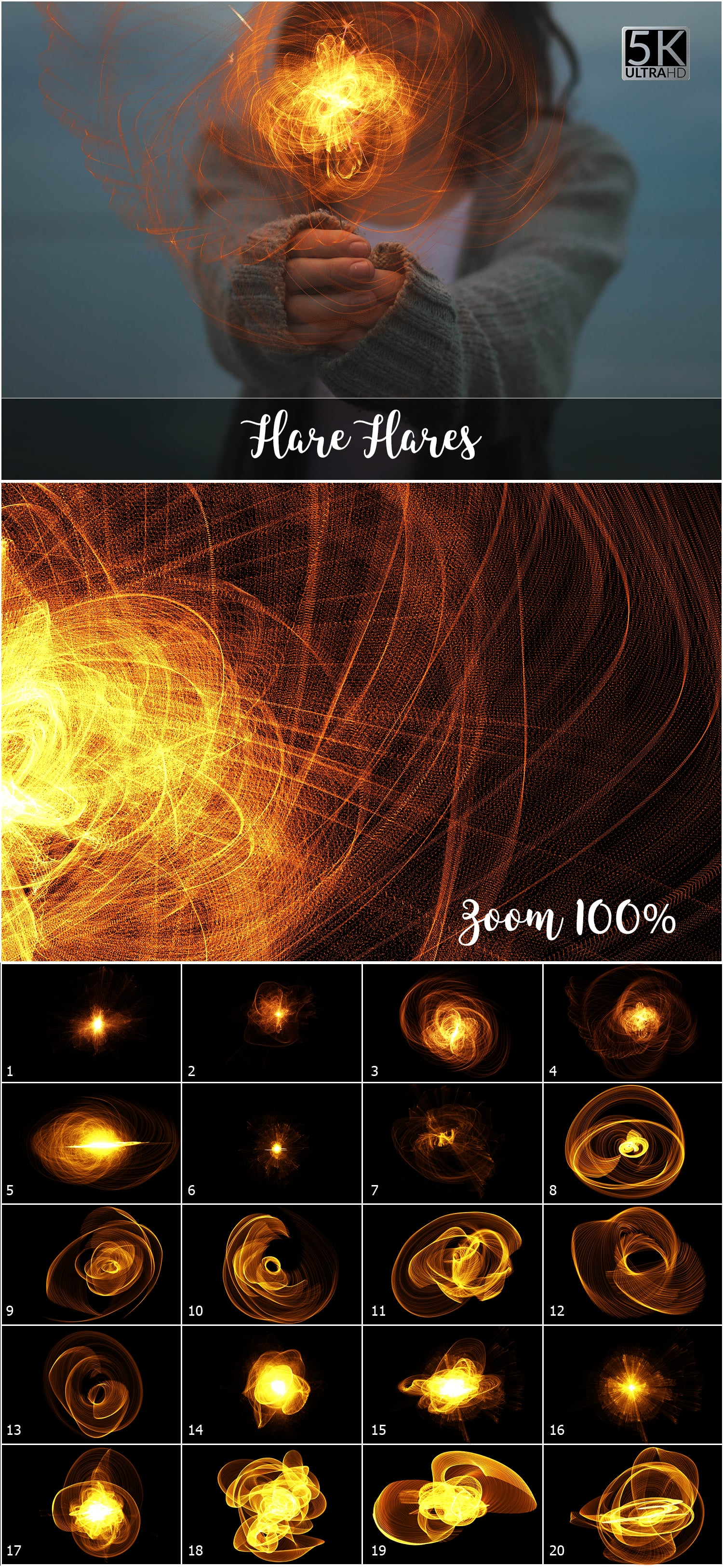 1053 Spectacular Overlays png - Only $18! - 9 Flare Flares