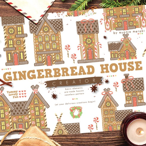 Author - Gingerbread preview 01