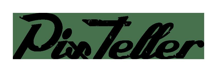 PixTeller Lifetime access - Pixteller logo black