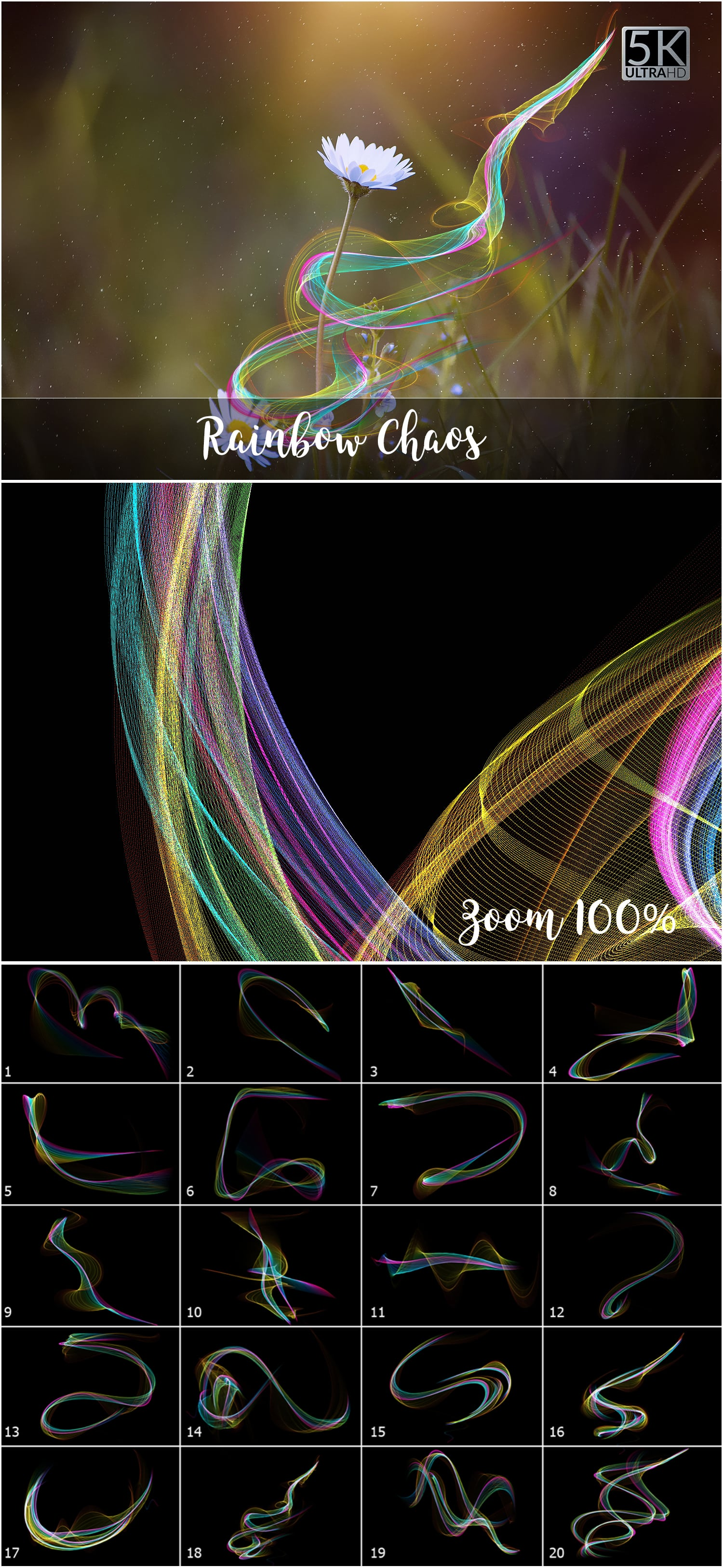 1053 Spectacular Overlays png - Only $18! - Rainbow Chaos