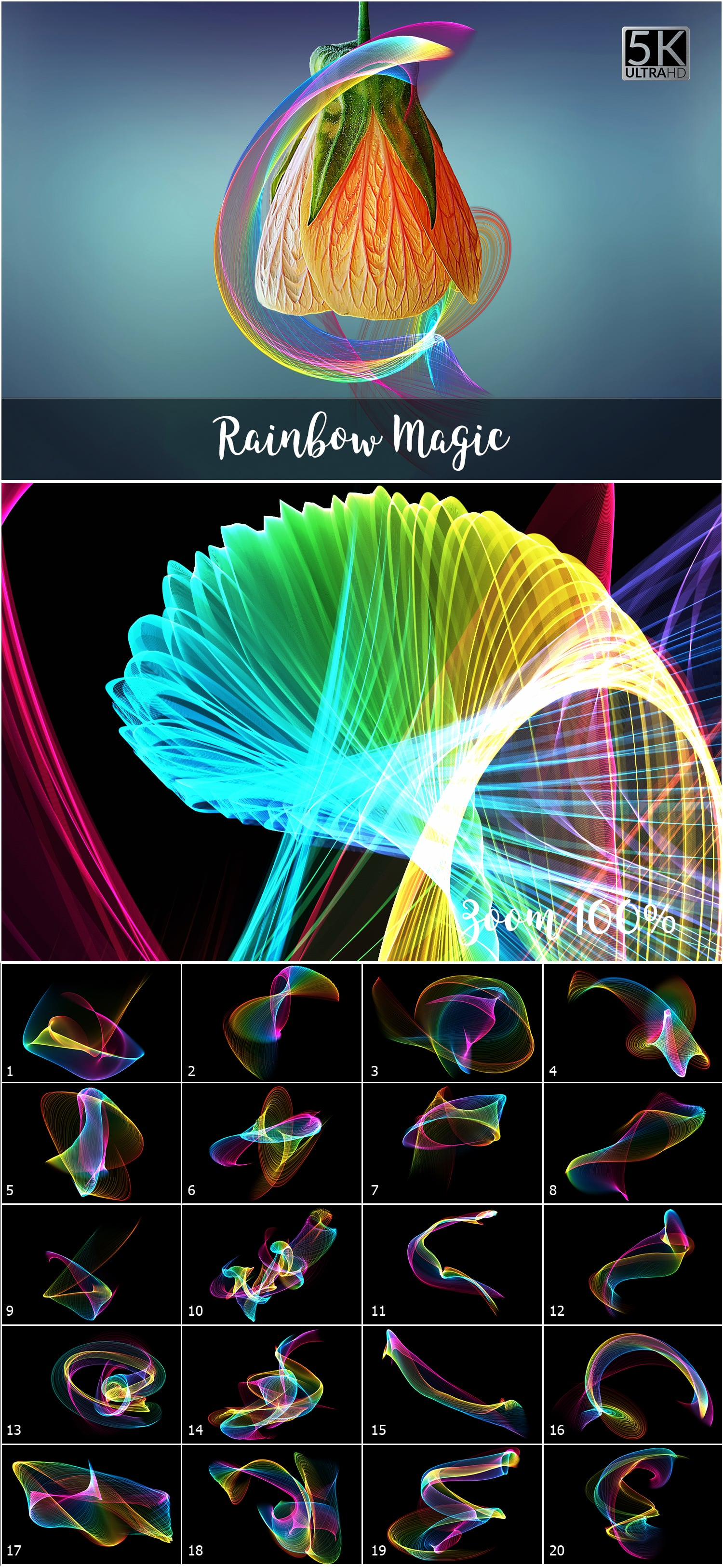 1053 Spectacular Overlays png - Only $18! - Rainbow Magic