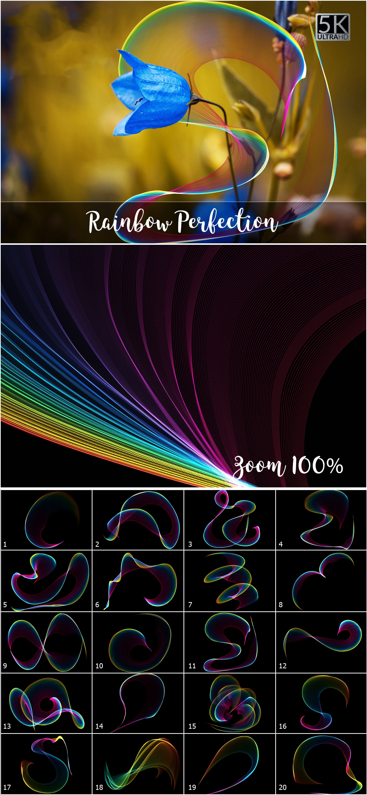 1053 Spectacular Overlays png - Only $18! - Rainbow Perfection