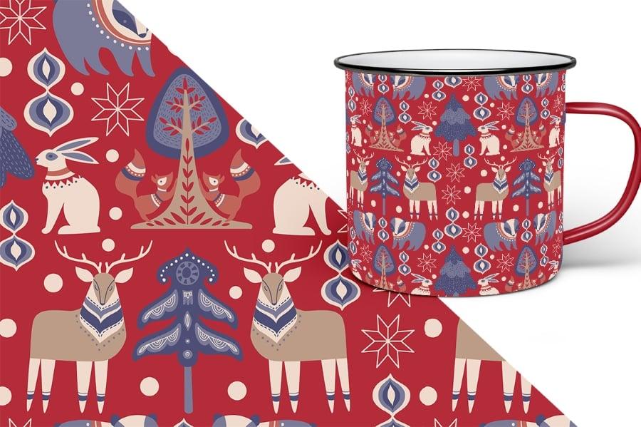 Scandinavian Winter Bundle: 80 Vector and Raster Elements - $15 - prev9