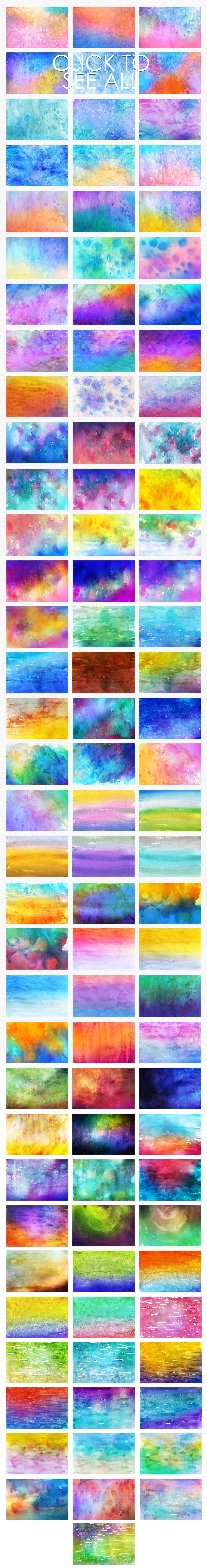 540+ Watercolor Backgrounds Bundle - 544 Items. Only $18! - 100 watercolor backgrounds prev 4 o