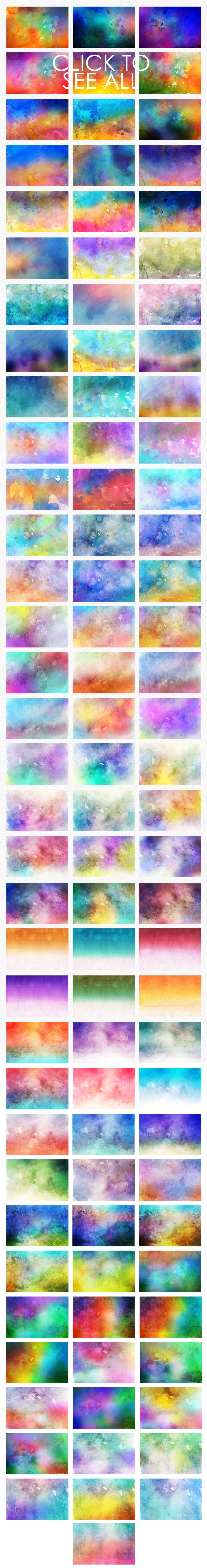 540+ Watercolor Backgrounds Bundle - 544 Items. Only $18! - 100 watercolor backgrounds textures prev o