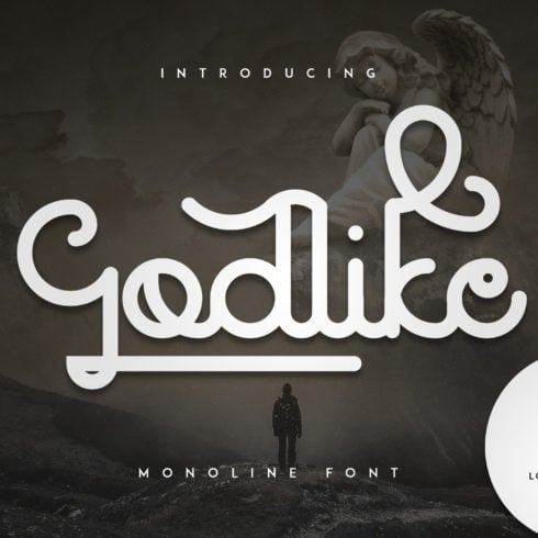 Godlike font + 10 Logo Templates - 1 a 490x490