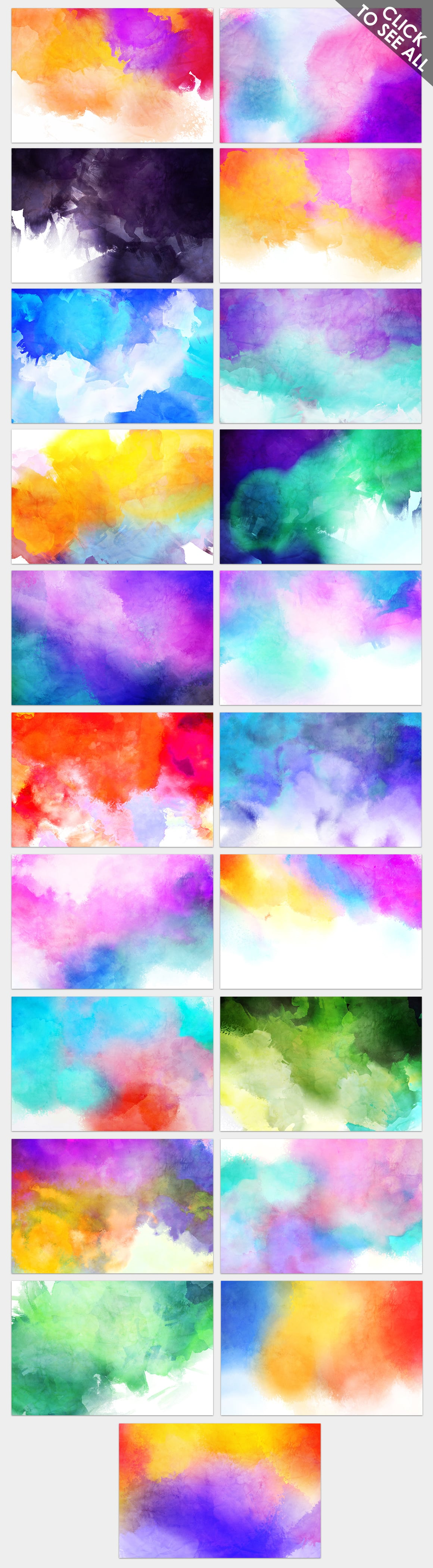 540+ Watercolor Backgrounds Bundle - 544 Items. Only $18! - artisticr backgrounds prev2 o