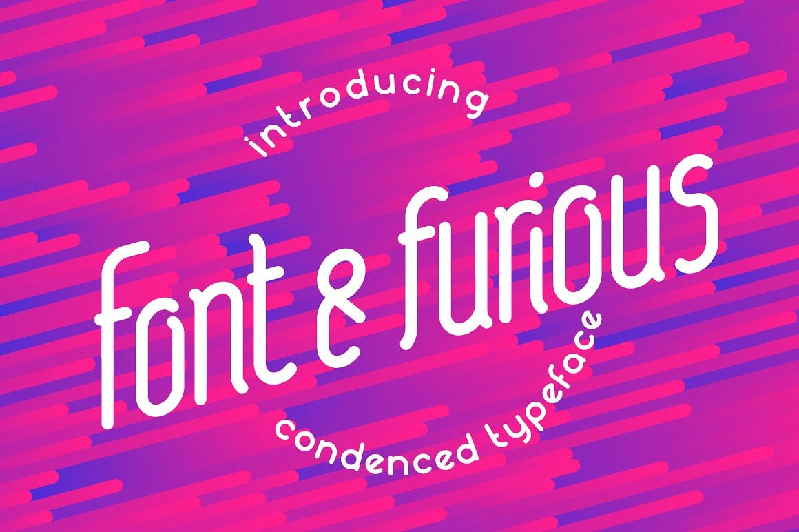 Font Bundle: 40 Typefaces from 22 Font Families - fontfurious 01